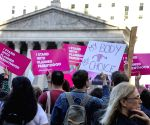 U.S. NEW YORK ABORTION RIGHTS PROTEST