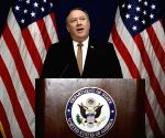 U.S.-NEW YORK-MIKE POMPEO-PRESS BRIEFING