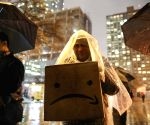 U.S. NEW YORK AMAZON HEADQUARTERS PROTEST