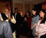 New York: PM Modi receives warm welcome at Lotte New York Palace