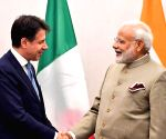 New York: Modi holds bilateral with Italian President Giuseppe Conte