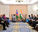 New York: PM Modi meets Namibia President