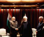 New York: PM Modi meets Iranian President Rouhani
