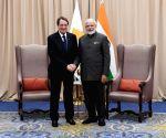 New York: PM Modi meets Cyprus President