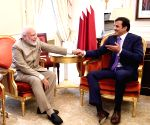 New York: Modi holds bilateral with Qatar Emir