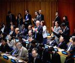 New York: UN General Assembly resolution sovereign debt