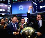 U.S. NEW YORK NYSE NIO IPO