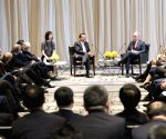U.S. NEW YORK CHINESE PREMIER BIGWIGS MEETING