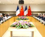 US CHINA FRANCE LEADERS MEETING