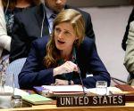 UN NEW YORK SECURITY COUNCIL SYRIA