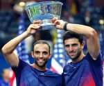 NEW YORK TENNIS US OPEN MEN'S DOUBLES FINAL