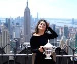 US NEW YORK TENNIS US OPEN ANDREESCU TROPHY