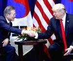 Moon, Trump agree to main dialogue with N.Korea