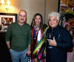 New York: Anupam Kher, Suhel Seth during a reception at Meera Gandhi's residence