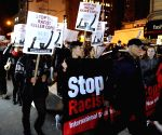 New York (U.S.):  Protest in Ferguson