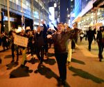 New York (U.S.): Protest at midtown Manhattan in New York