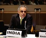 New York: Syed Akbaruddin during United Nations Conference on Environment