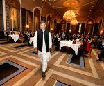 New York (US): Arun Jaitley, Kailash Satyarthi during a programme in New York
