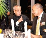 New Zealand: President Mukherjee during a banquet in New Zealand