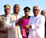 Bihar's new Governor Fagu Chauhan arrives in Patna