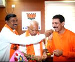 Naveen Kumar Kateel takes charge at Karnataka BJP chief
