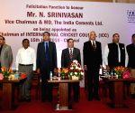 N Srinivasan felicitated
