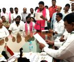 S. Saidi Reddy takes oath as Huzurnagar MLA
