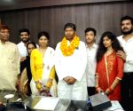 Pashupati Kumar Paras assumes office