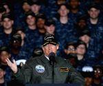 U.S. NEWPORT NEWS PRESIDENT TRUMP GERALD R. FORD SPEECH