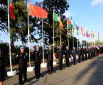 CYPRUS NICOSIA UN MEDAL POLICE PRESENTATION