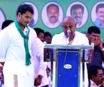 Kumaraswamy's son JD-S candidate from Mandya LS seat