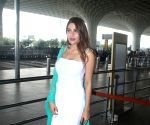 : Mumbai: Nikki Tamboli Spotted at Airport Departure