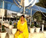 Free Photo: Nimrat at Gurudwara her family has been visiting for 25 years