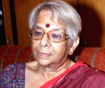Nirmala Mukherjee talks to press