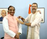 Nishank receives 'Maharishi Inter National Invincible Gold Medal'