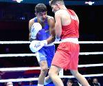 Nishant Dev makes impressive debut at Men's World Boxing