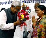Nitish elected the leader of JD(U) legislative party