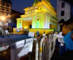 "No Entry"" at Mohammed Ali Park Puja pandal ahead of Durga Puja celebrations"