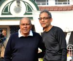 Abhijit Banerjee reaches Calcutta South Club to play tennis
