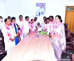Free Photo: nominations filed on behalf of KCR for TRS president's election