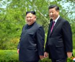 Kim Jong-un highlights strong ties with China against 'hostile forces'