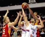 SERBIA NOVI SAD BASKETBALL FIBA QUALIFIER SERBIA VS GERMANY