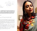 Free Photo: Now complaint against Swara Bhaskar, Twitter,Twitter INC, Manish Maheshwari, Arkansas Khanum and others at Ps Tilak Marg.