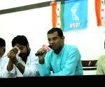 NSUI - press conference