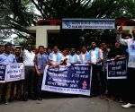 NSUI demonstration against central government