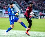 (SP)GERMANY NUREMBERG SOCCER BUNDESLIGA NUREMBERG VS HERTHA
