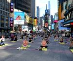 NYC, rising from Covid restrictions, celebrates Yoga Day