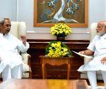 Odisha CM meets PM Modi