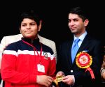 Abhinav Bindra at a school