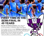Olympic Hockey: Tortuous road to the first semi-final in 49 years (ld)